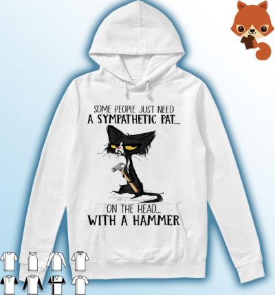 Black Cat some people just need a sympathetic pat on the head with a gamer s Hoodie