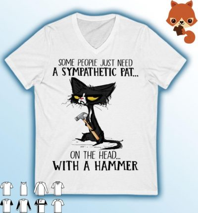 Black Cat some people just need a sympathetic pat on the head with a gamer shirt