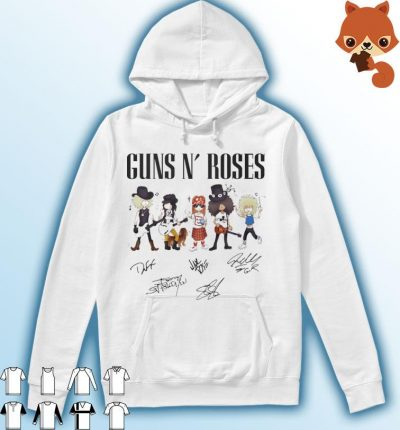 Guns Roses signatures 2021 Hoodie