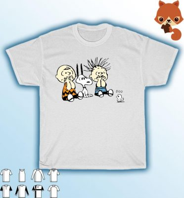 The Peanuts Snoopy And Charlie Brown Halloween Boo Shirt T-shirt