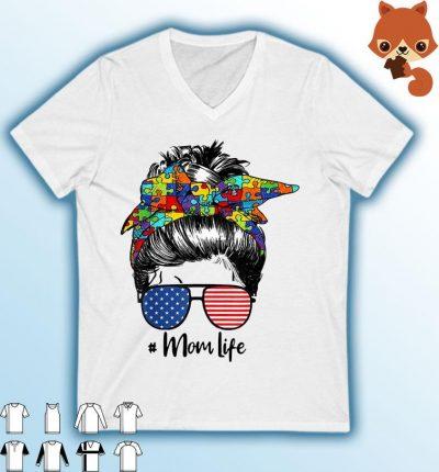 Autism Awareness Mom Life - Women Mothers Day 2021 Shirt