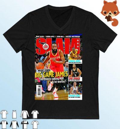 SLAM June 2015 James Harden 2021 Shirt