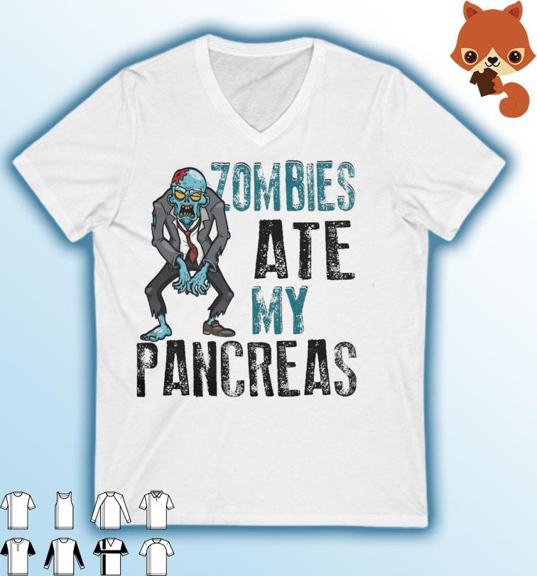 Zombie Ate My Pancreas Halloween 2021 Shirt Masswerks Store